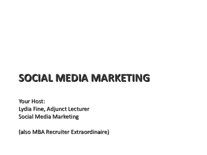 Tippie MBA Marketing Academy Guest Lecture