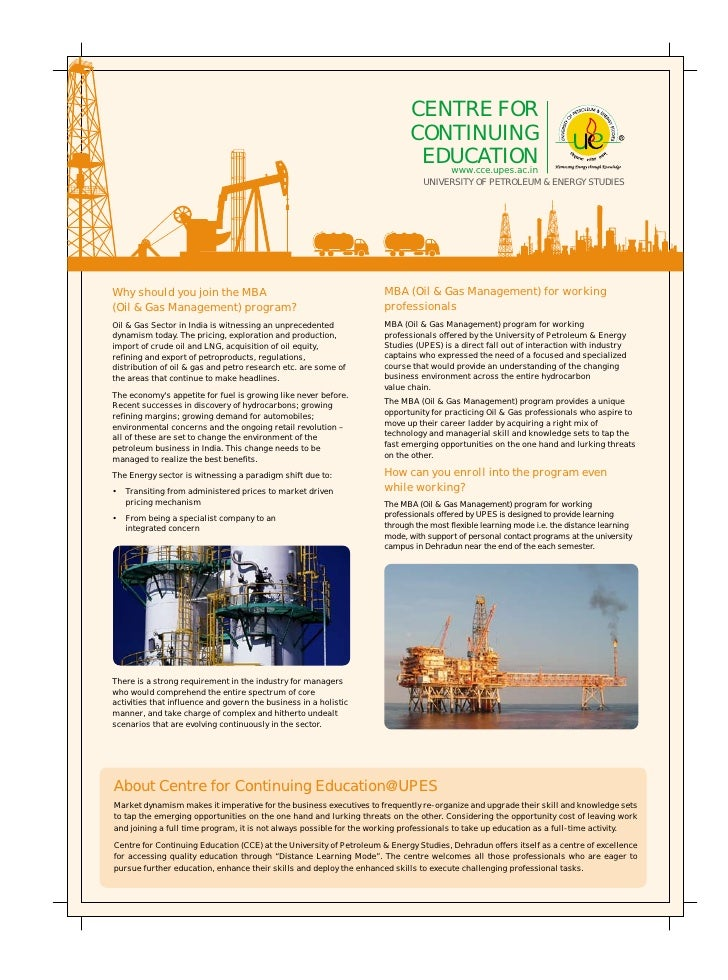 Mba (oil & gas)