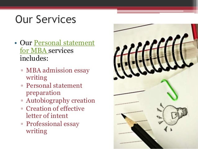 Professional Personal Statement Writers at Your Service