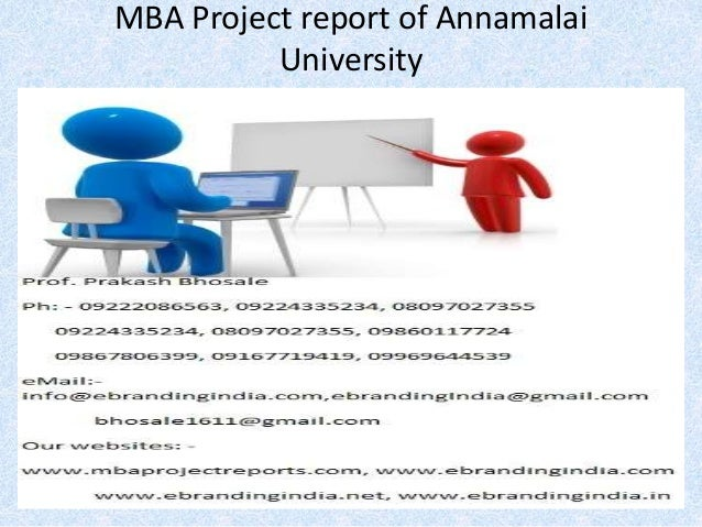 Annamalai university mba assignments