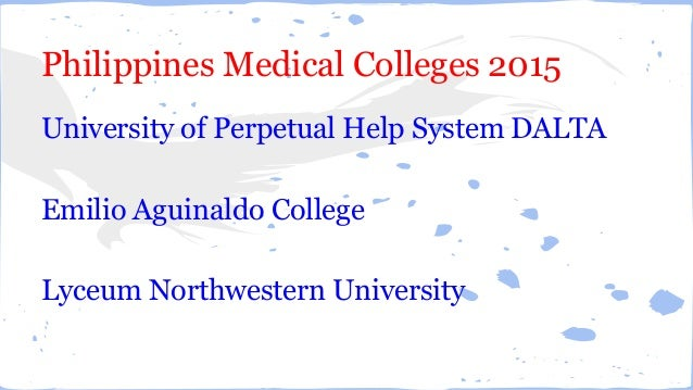 Philippines Mbbs College Philippines Medical Colleges