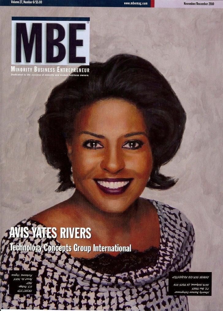 MBE Magazine - Wells Fargo Leading the Change in Supplier Diversity