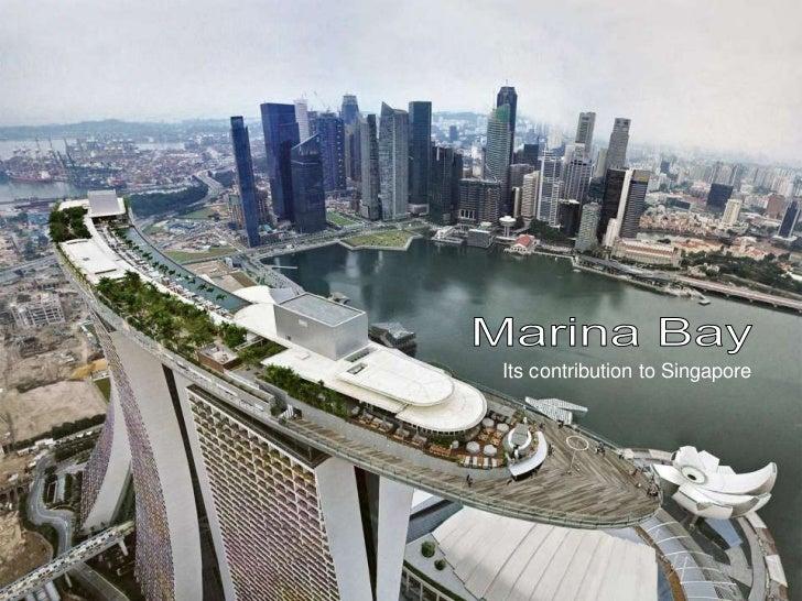 Its contribution to Singapore