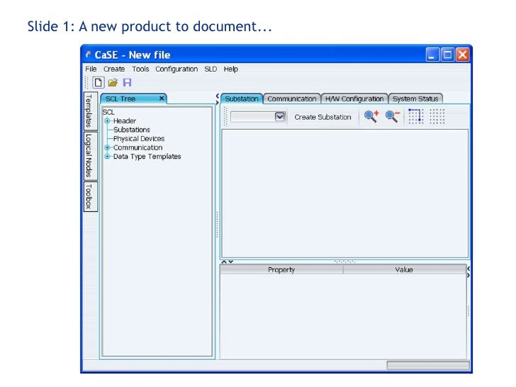 Slide 1: A new product to document...<br />