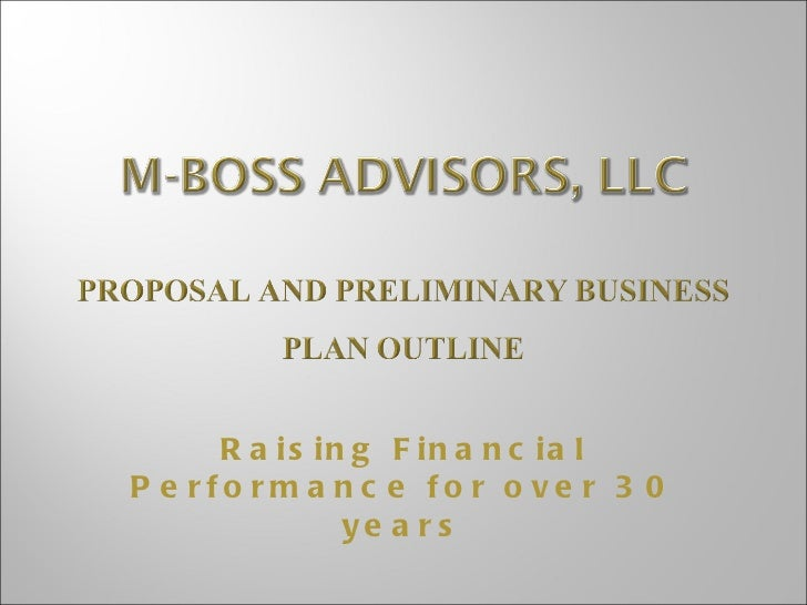 M Boss Advisors, Llc