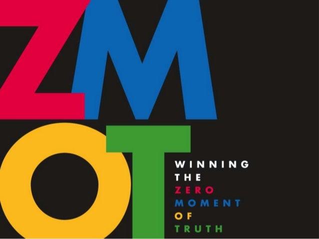 ZMOT: Zero Moment of Truth