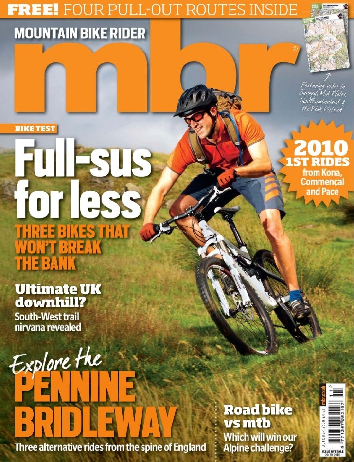 mountain bike rider octubre 2009