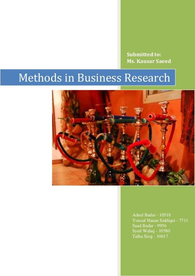 Harmful Effects of SHISHA Tobacco | Business Research
