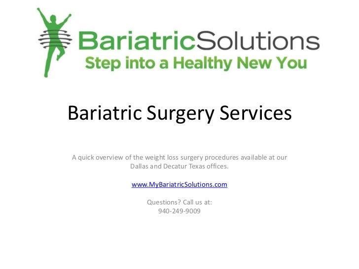 Dallas lap band surgery - Bariatric weight loss