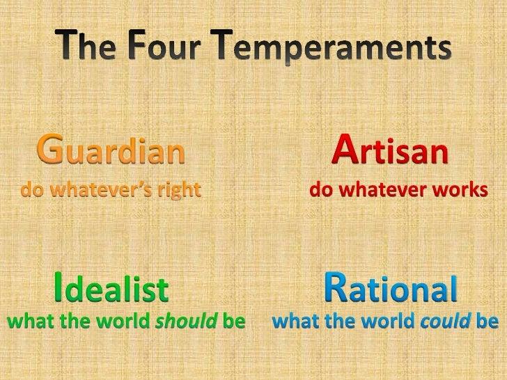 analysis of keirsey temperament sorter