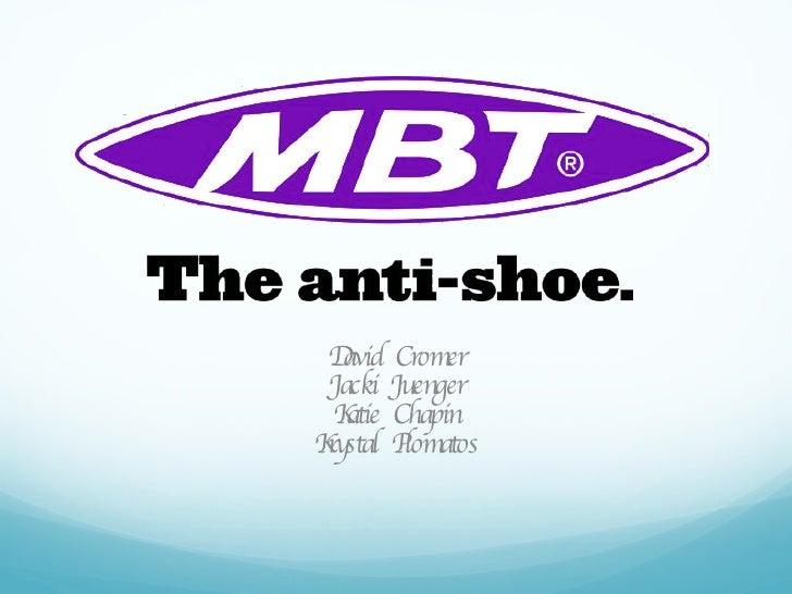MBT_Shoes Media Plan & Target Analysis