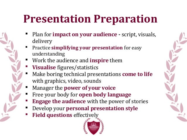20 Ways to Improve Your Presentation Skills