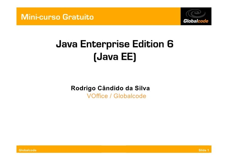 MC - Java Enterprise Edition 6 (Java EE)