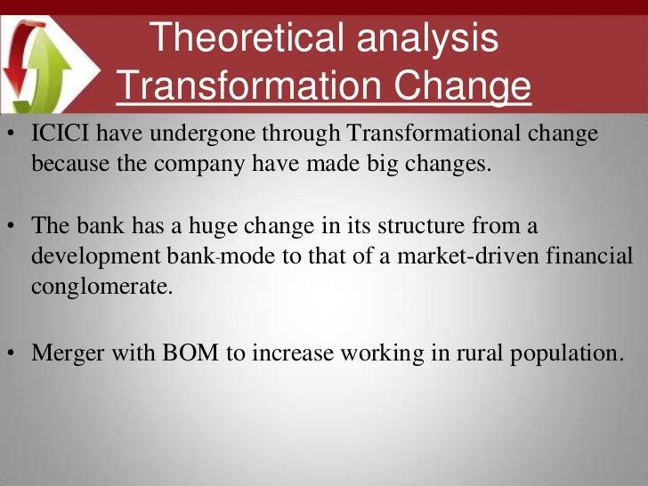 icici bank change management case study