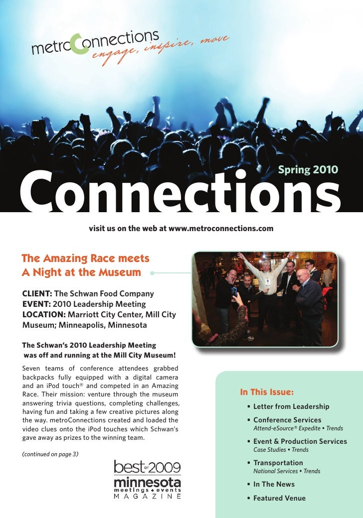 Connections                                                                           Spring 2010                         ...