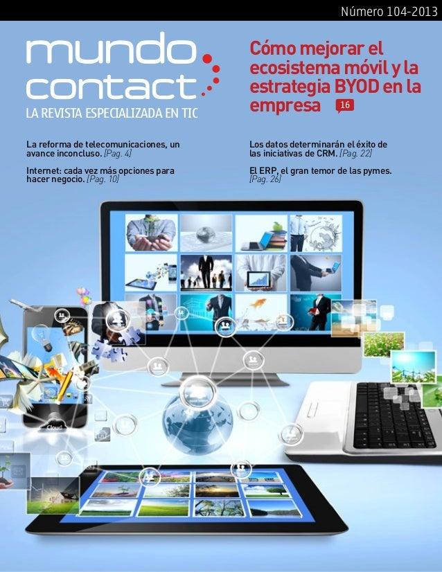 Revista Mundo Contact Marzo 2013