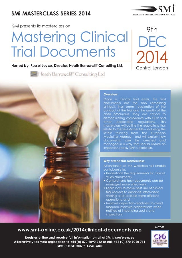 Overview: Once a clinical trial ends, the trial documents are the only remaining artifacts that permit evaluation of the c...