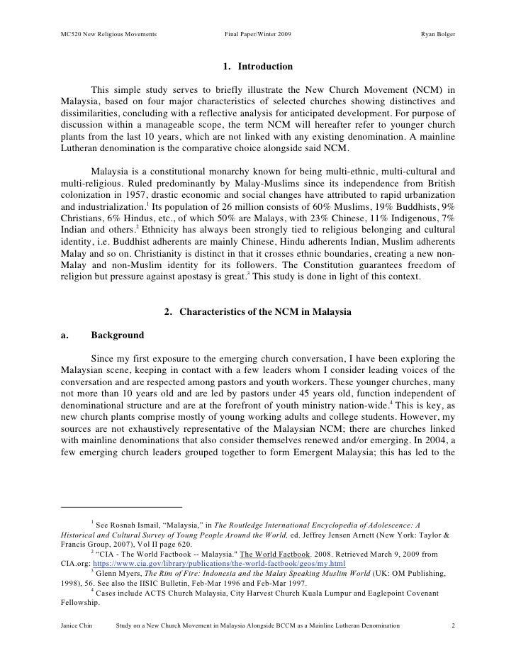 New Religious Movements - Essay Example