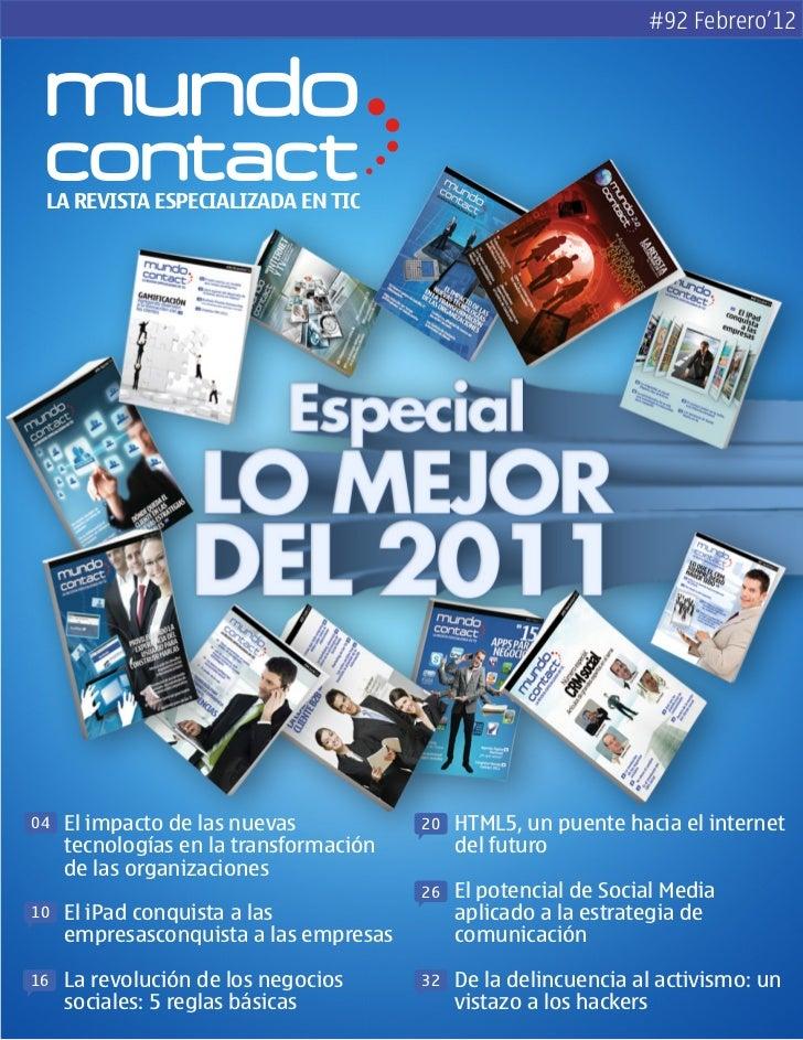 Revista Mundo Contact Febrero 2012