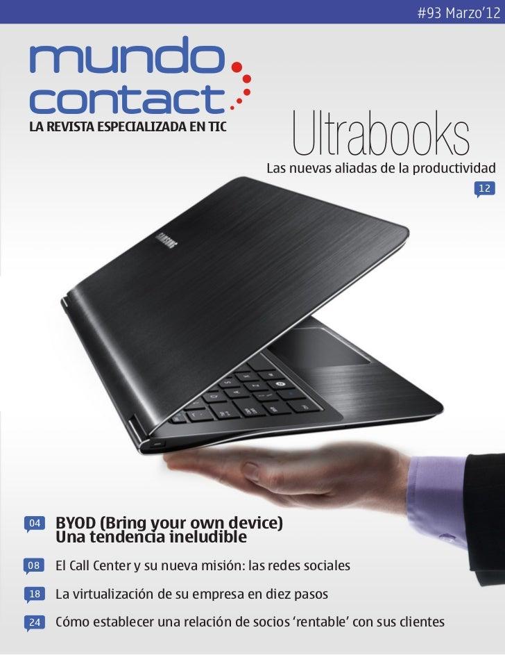 Revista Mundo Contact Marzo 2012