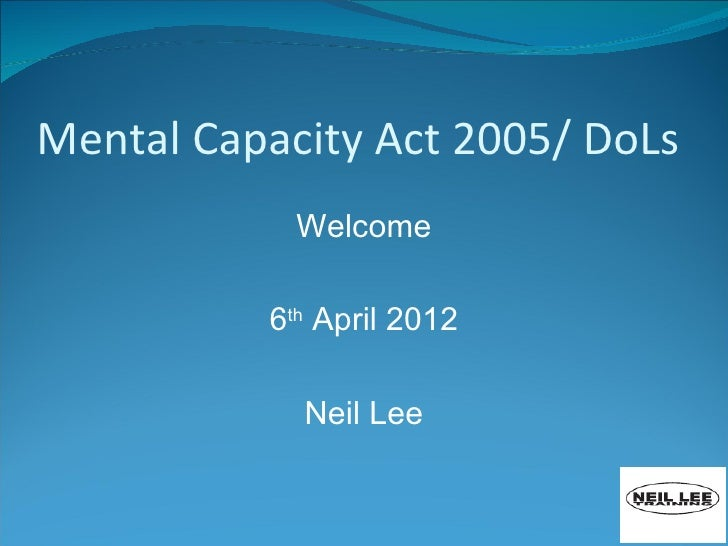 mental capacity act nvq 5 Code of practice giving guidance for decisions made under the mental capacity  act 2005.