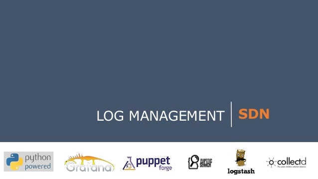 LOG MANAGEMENT  SDN