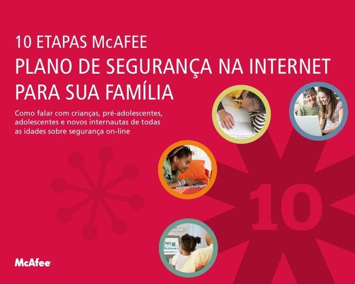 Mc Afee Internet Safety Plan