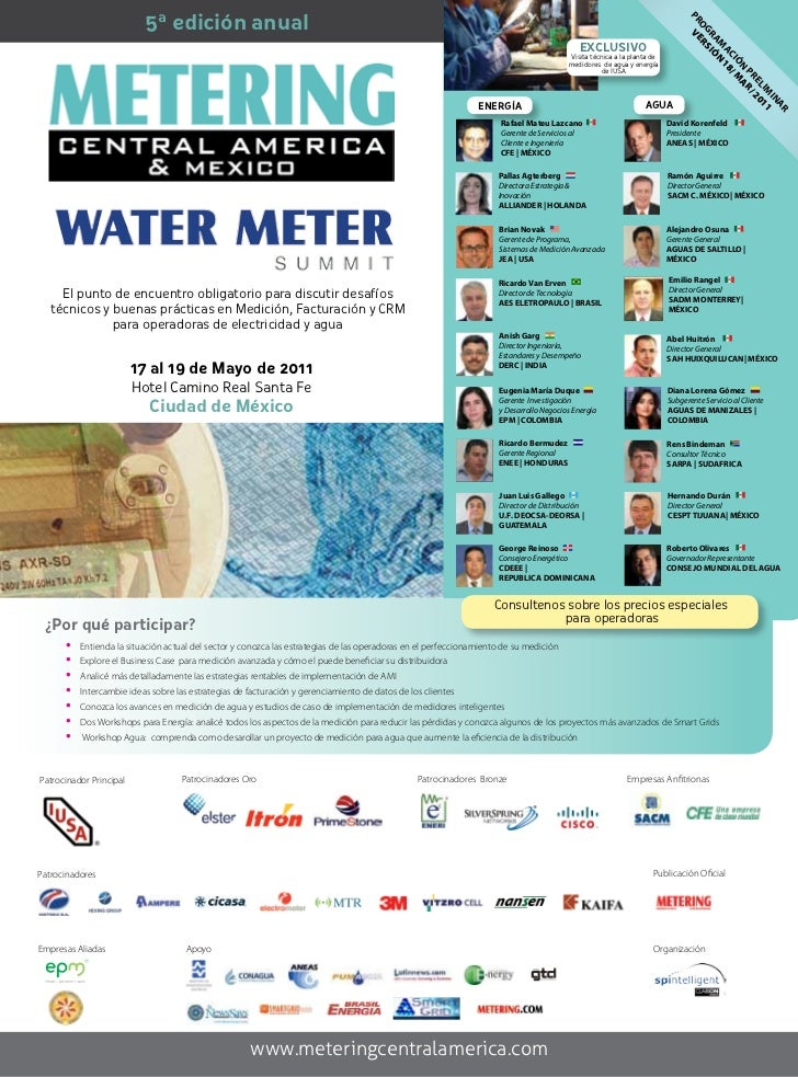 Metering Central America & Mexico 2011