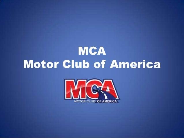 Mca Motor Club Of America