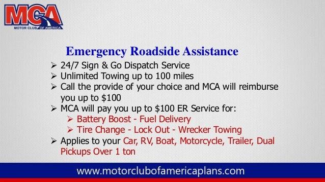 Mca motor club of america full presentation 2014 for Motor club company reviews