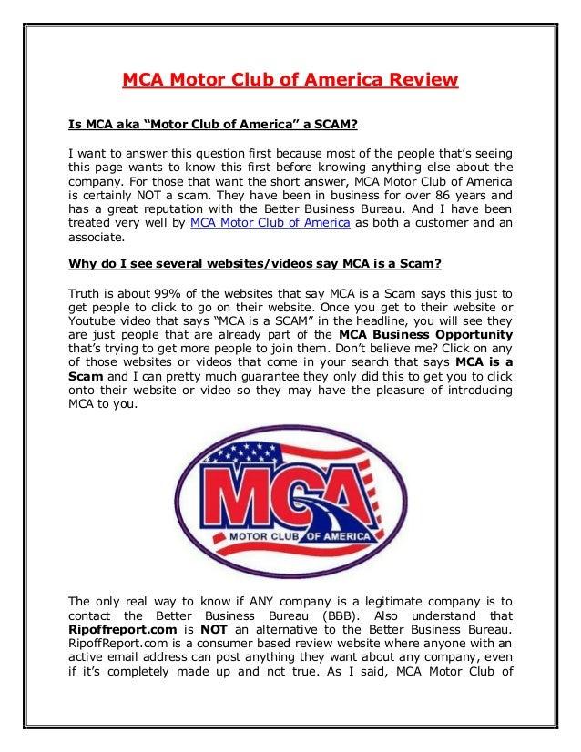 Mca motor club of america review for Road america motor club