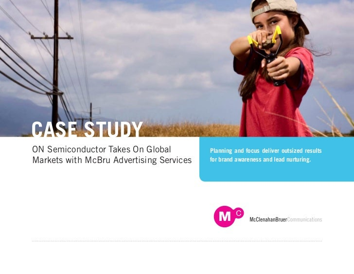 McBru Advertising Case Study - ON Semiconductor