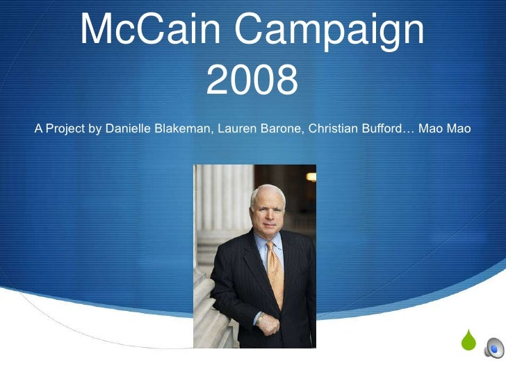 Mc Cain Campaign(Final)