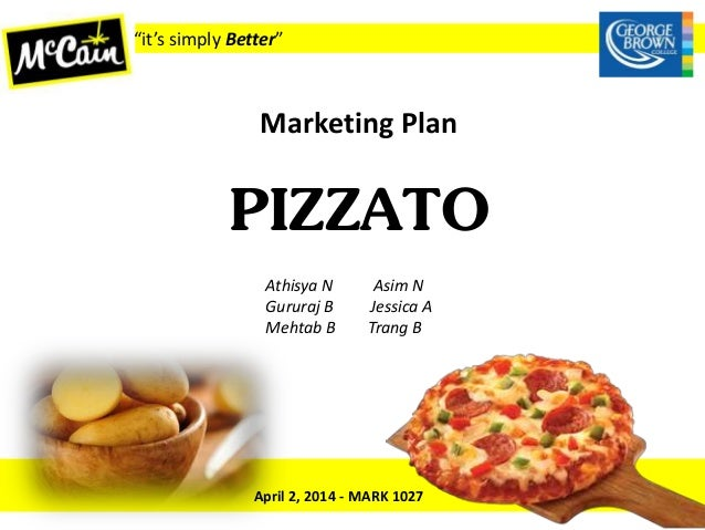 marketing mixture of mc cain foods Collaboration with mccain foods  raise the heat of the pan and add in the eggs, mix lightly with the spinach mixture and allow the bottom of the frittata to set.