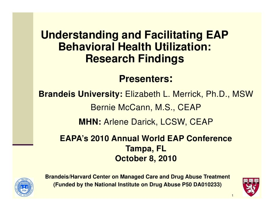 Facilitating EAP and Behavioral Health Utilization