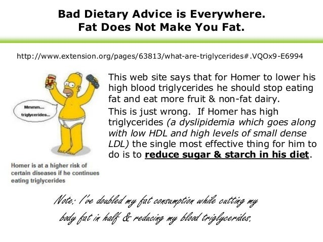 Fat as a health food benefits amp course corrections during a year of
