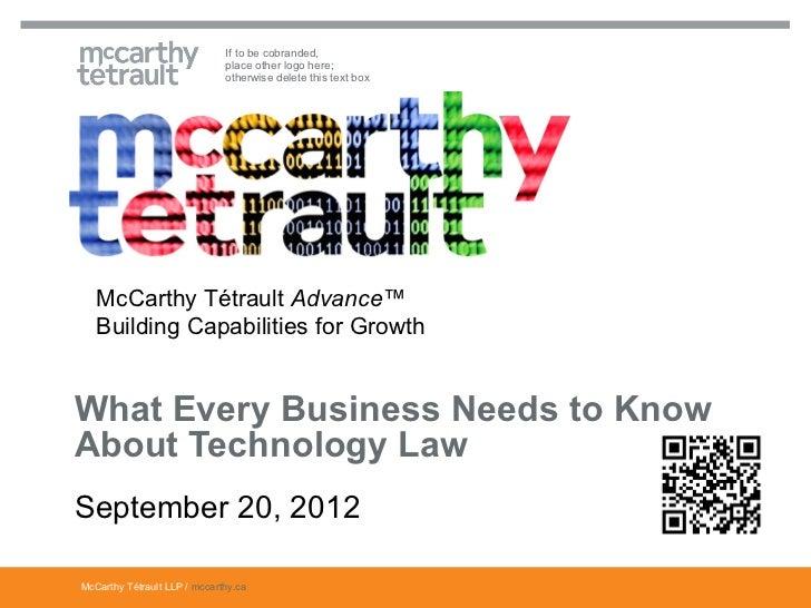 Mc carthy technology law_summit