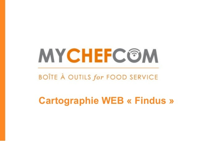 Cartographie WEB « Findus »                        *