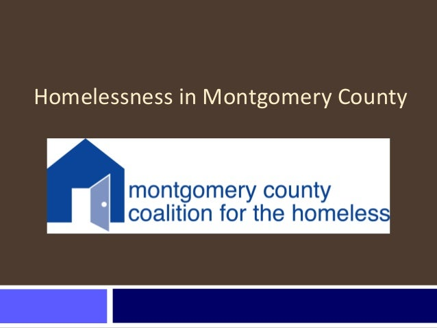 Homelessness in Montgomery County