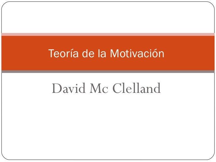 Mc clelland