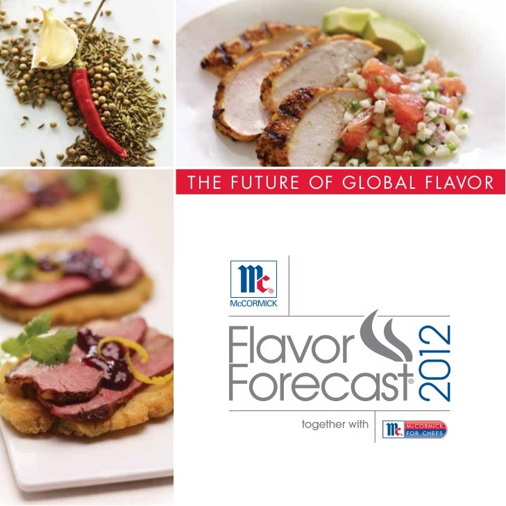 McCormick for Chefs 2012 Flavor Forecast