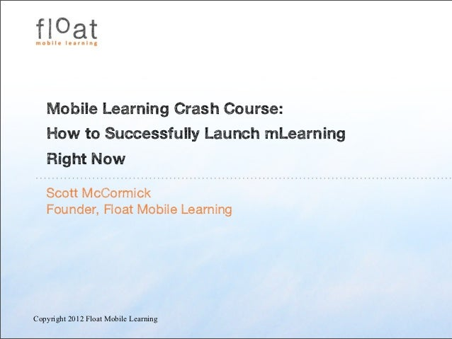 Mc cormick mobilelearningcrashcourse_15.10.12