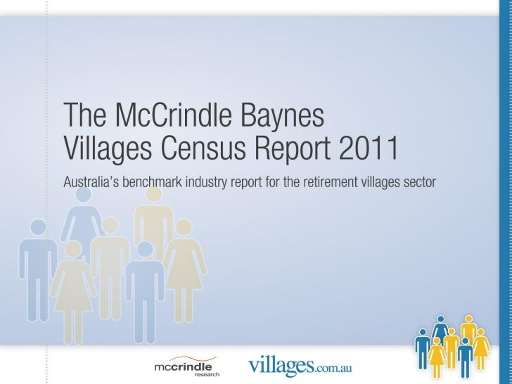McCrindle Baynes Villages Census 2011 summary