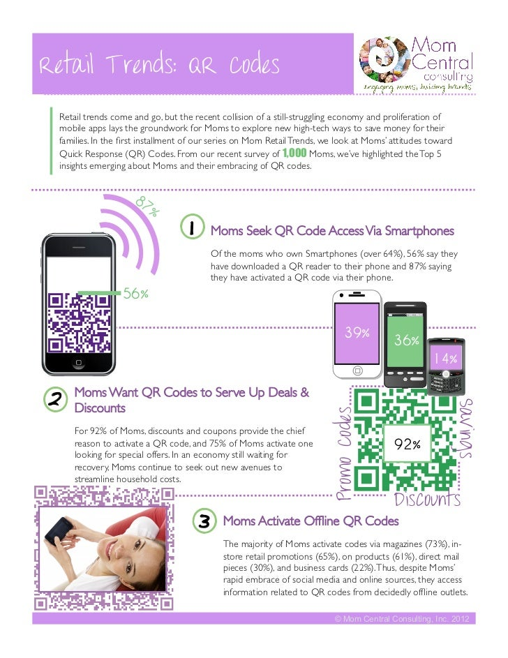 Retail Trends: QR Codes Retail trends come and go, but the recent collision of a still-struggling economy and proliferatio...