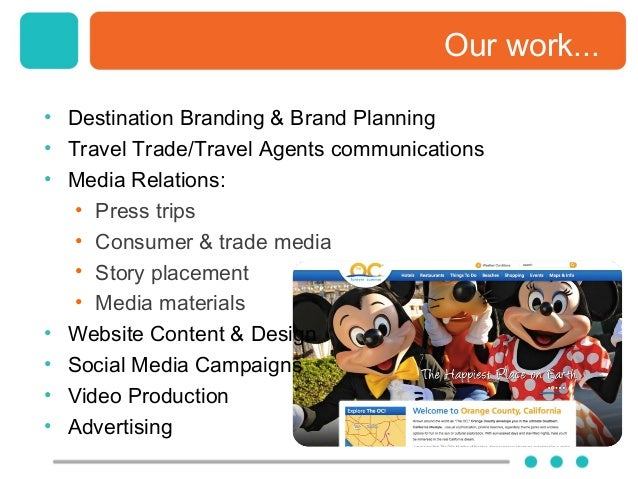 plan and justify an integrated promotional campaign for a travel and tourism Tourism malaysia integrated promotion plan 2018-2020 tourism malaysia remains positive that the tourism landscape in the country will continue to be blessed with many success stories in the future.