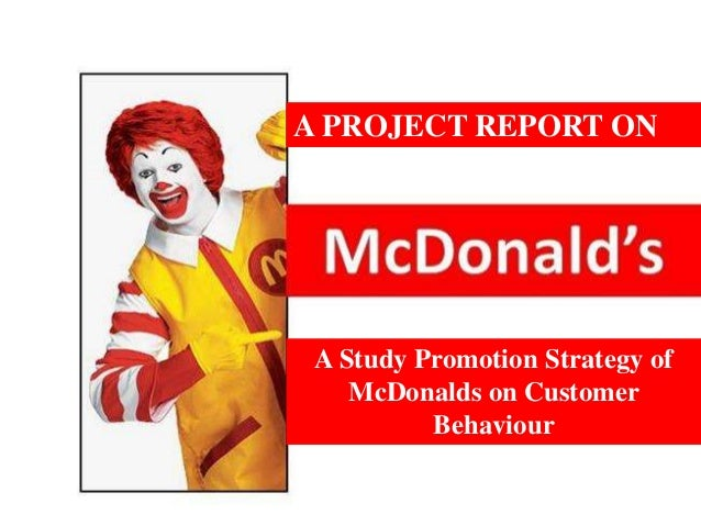 McDonald's Marketing Mix (4Ps) Analysis - Panmore Institute