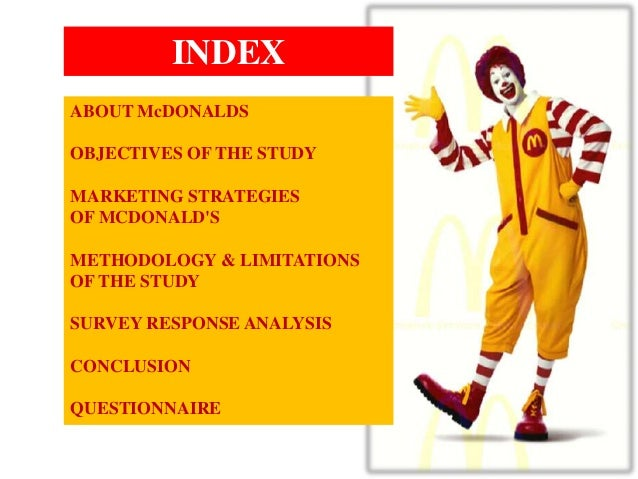 mcdonalds case study marketing research The last case study i refer to (and has in the case of mcdonald advertising agile market research analysis b2b behavioral economics big data books brand.