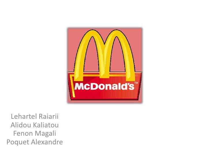 Mcdonald's: Territoire de Communication Actuel, Idée de nouveau Territoire de communication