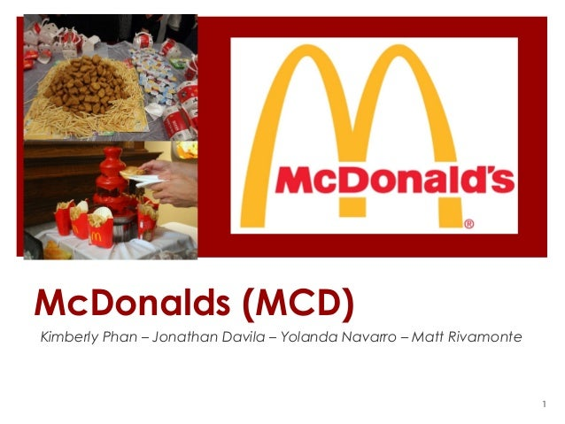 McDonalds Stock Market Project