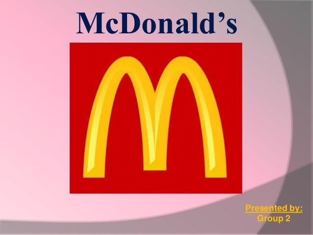 Presentation about McDonald's